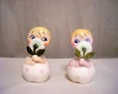 Holt Howard Daisy 'Dorables Salt & Pepper Shakers