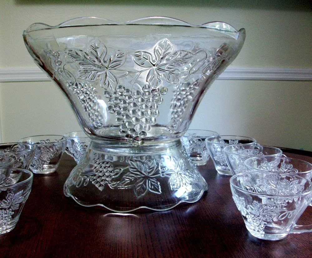 76 best Punch Bowls and Sets - Antique and Vintage