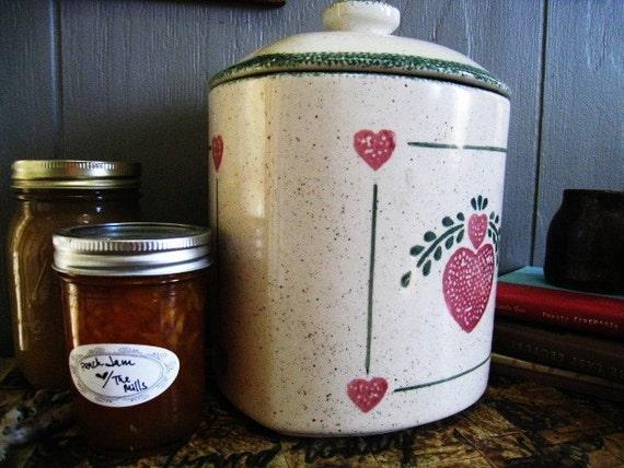Heart the Earth Ceramic Compost Pot