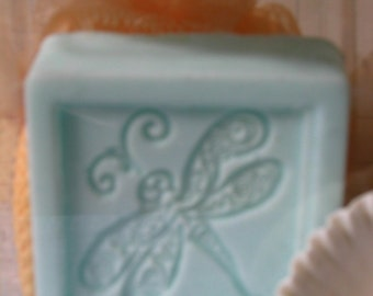 Seaside Scented Soap and Scrubbie