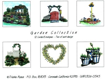 Garden Note Card Set