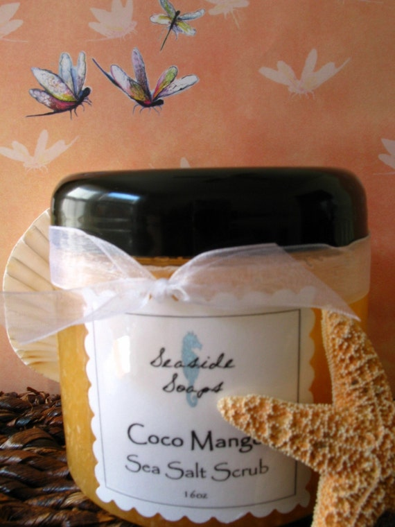 Coco Mango Sea Salt Scrub