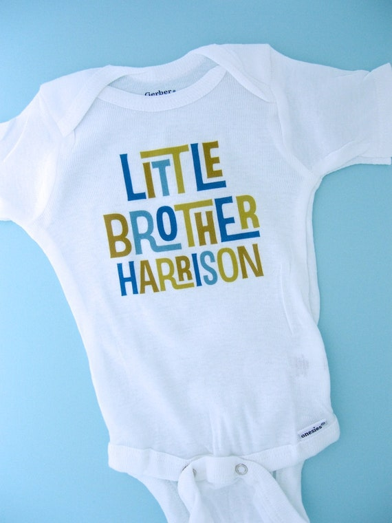 Little Brother Onesie Little Brother Shirt By
