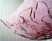 Pink Crinoline - LAST ONE Vintage 50s Style Petticoat Slip for Your Dress or Skirt S M - The Ideal Crinoline