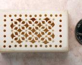 Vintage Handcarved bone trinket box
