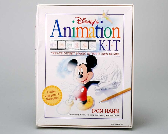 Sale Vintage Disney Animation Kit