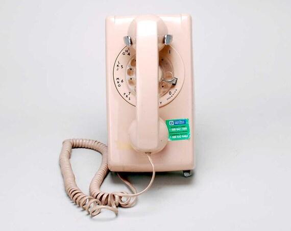 Vintage Rotary wallphone all original