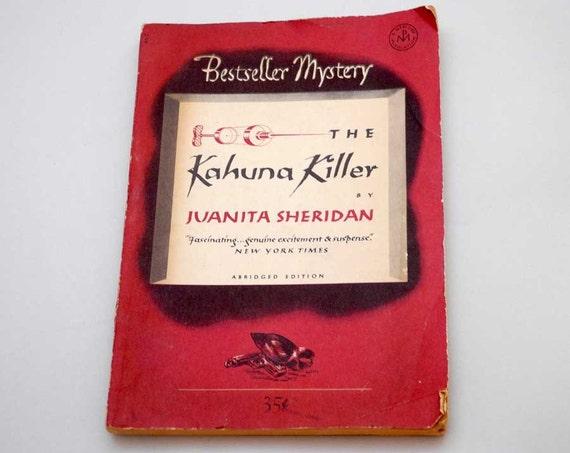 Reserved Vintage Free Shipping Pulp Novel. KAHUNA KILLER..Great Cover art
