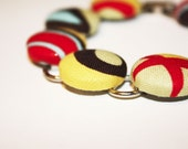 Bethany's Fashionista Cover Button Bracelet