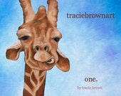 coffee table book. inspirational. life message. self published art book. collection of original paintings by artist tracie brown. one.