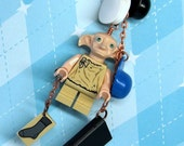 Dobby the House Elf Bookmark made from LEGO (r) Parts  - Original Design by MoLGifts version 2