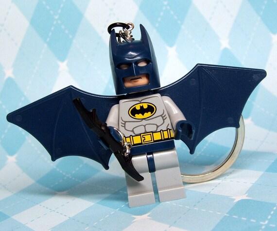 Batman Key Chain made from NEW Superhero Lego Minifigure - LAST ONE
