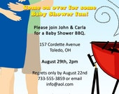 Co-ed BBQ Baby Shower Invitation