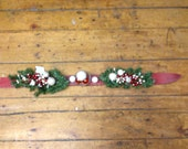 Ski Centerpiece Made in Vermont and handcrafted out of Recycled Skis makes a great ski gift for skiers