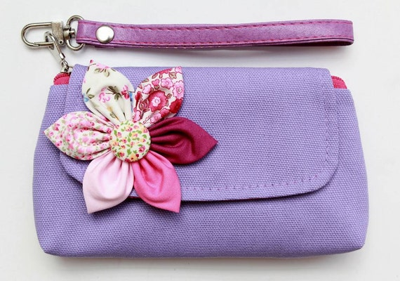 Purple Wristlet Case For iPhone Coin SALE Buy 3 Get 1 FREE