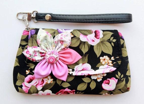 iPhone purse wristlet purse zipper wallet  pencil purse PROMOTION Buy 3 Get 1 FREE