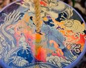 IN STOCK       Tree Swing -  Purple Dragon