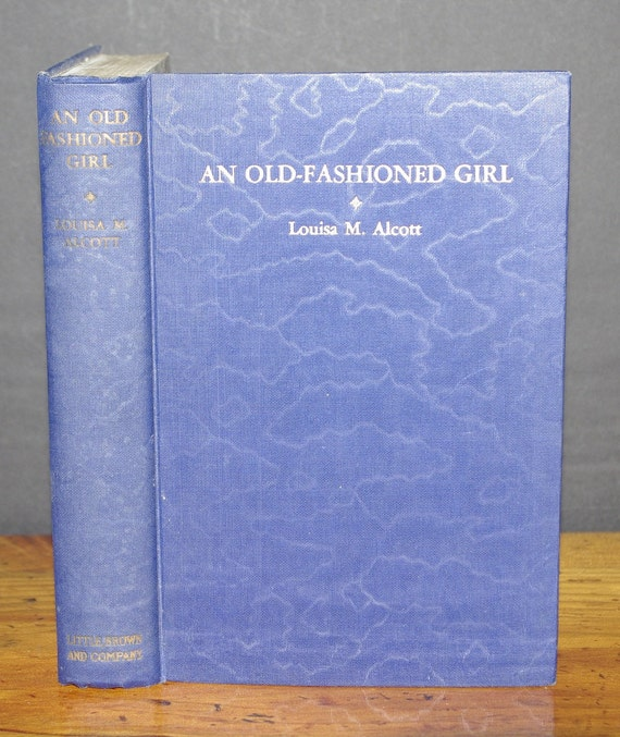Hollow Book Safe Old Fashioned Girl  Louisa May Alcott vintage cloth bound book