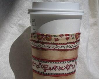 Stripe Coffee Cozy
