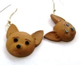 Earrings Mix and Match Collection Matching Set Chihuahua Dangle Earring Style