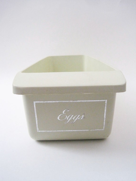 Vintage 1950s Refrigerator Eggs Container