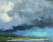 """Reserved for Paul L.  6x8"""", """"Big Storm Brewing"""""""""""