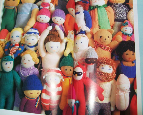 Sock Doll Workshop Craft Book Softcover Stuffed Animals Plushie Soft Toys