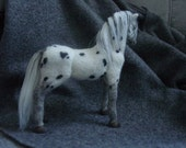 Needle felted Appaloosa horse