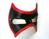 Banded Villain Leather Mask
