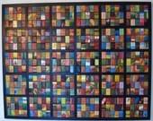 Match Box Mosaic    450 Acrylic Paintings