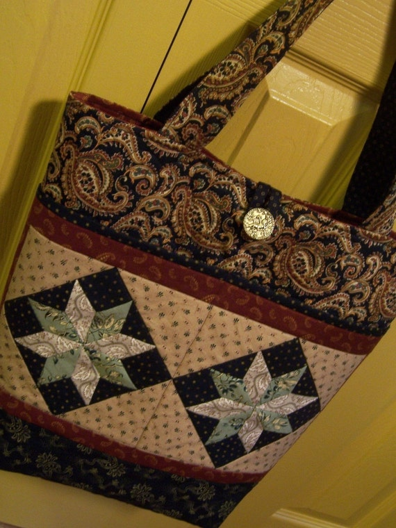 Pattern for Minneapolis Tote by Spring Water Designs