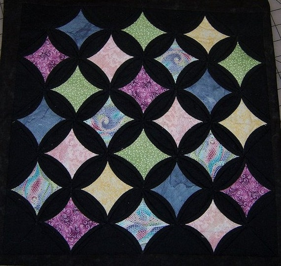 Cathedral Window Quilt Pattern By Springwaterdesigns On Etsy