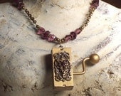 Lullaby Working Music Box Necklace