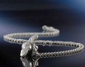 Silver Queen Bee Necklace