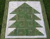 Christmas Tree Wall Hanging Pattern, PDF format