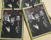 Green Day Bookmark/Tag Black and White