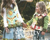 Autumn Fall Back to School Pink Fig  Natty Jacket Vest  Pattern No. 9   FREE SHIPPING