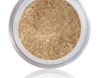Topaz | Pure Mineral Glow | Radiance All Over Color - Luminizer - Highlighter- Illuminator (golden peach glow)