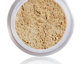 Sheer Foundation, Multitasking Foundation, Foundation Concealer, Powder SPF, Bamboo Foundation, Light to medium skin, with golden undertones