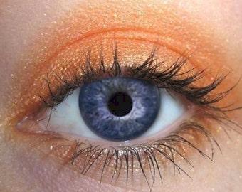 Mandarin Orange Eyeshadows | Mandarin Eyeshadow | Yellow Tangelo Orange  | Like MAC Eyeshadow | Mineral Makeup | Vegan Cosmetics