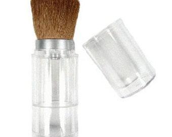 Organic Mineral Makeup Kit, Refillable Buffing Brush, Organic Mineral Foundation,  Organic Blush, Organic Bronzer, Organic Finishing Powder