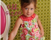 Circle-Top Shirt PDF Pattern, Baby, Toddler Girl newborn to 5T