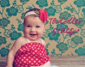 Sweet Baby Babydoll Top/Dress PDF Pattern Tutorial, Toddler Girls 2T to 4T
