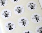 Queen Bee Round Seals