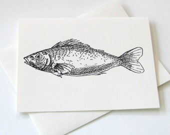 Lil' Fish Notecards - Set of 10