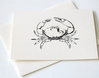Crab Notecard Set of 10