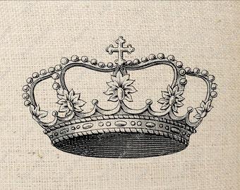 Princess Crown Digital Download Iron on Transfer