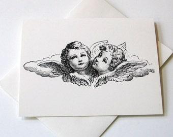 Vintage Cherub Notecards