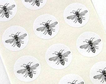 One Inch Bee Round Seals