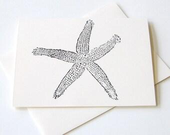 Starfish Notecard Set of 10
